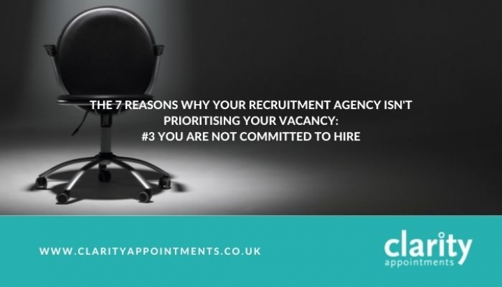 The 7 Reasons Why Your Recruitment Agency Isnt Prioritising Your Vacancy