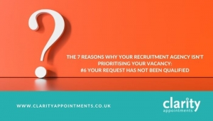 The 7 reasons why your recruitment agency isn't prioritising your vacancy