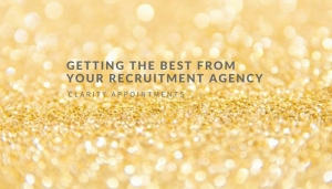 Getting the best from your recruitment agency