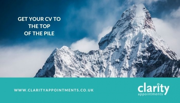 Get Your CV To The Top Of The Pile