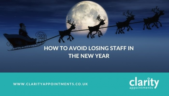 How To Avoid Losing Staff In The New Year