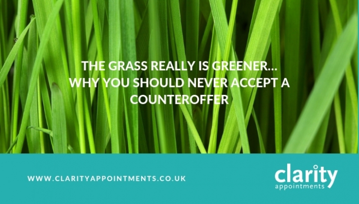 The Grass Really Is Greener Why You Should Never Accept A Counter Offer