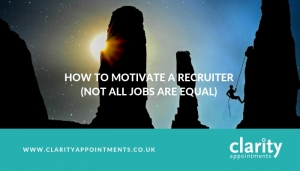 How to motivate a recruiter
