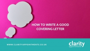 How to write a good covering letter