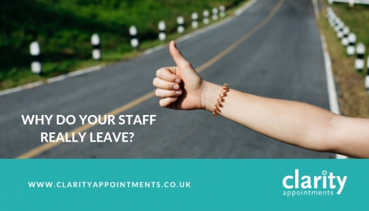 Why Do Your Staff Really Leave