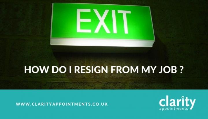 How Do I Resign